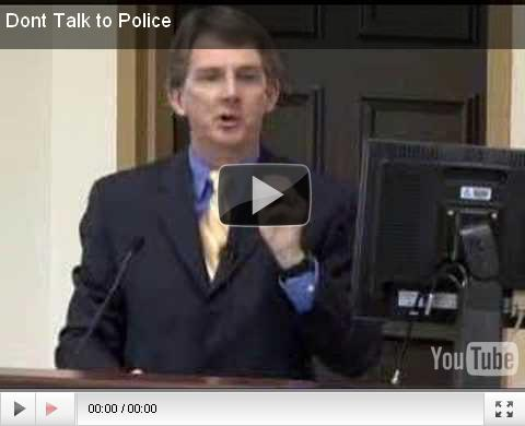Louis G Fazzi | Don't talk to Police